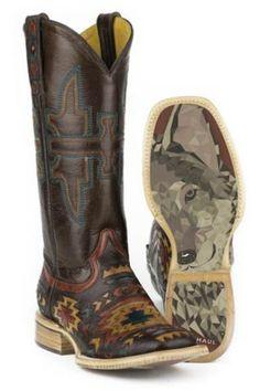 Tin Haul South By SW Wolf Sole Boots - Urban Western Wear