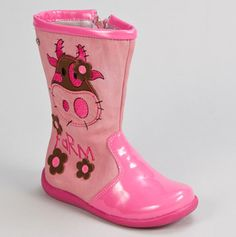 Farm Boot Pink