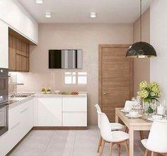 Mesa de parede na cozinha: +55 lindas ideias!