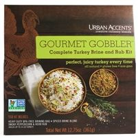 For Juicy, Moist Turkey Every Time!This easy all-in-one Gourmet Gobbler Turkey kit includes Spiced Brine Blend, a heavy duty BPA-Free brining bag (for turkeys u Best Turkey Brine, Turkey Rub, Gluten Free Thanksgiving, Thanksgiving Recipes, Gourmet Food Gifts, Gourmet Recipes, Chocolate Turkey, Turkey In Roaster, Moist Turkey