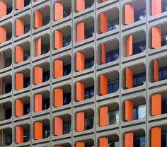 Orange maketh the wall. @designerwallace