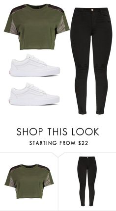 """Sayyy"" by janb-1 ❤ liked on Polyvore featuring Boohoo and Vans"