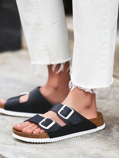 Free People Arizona Super Grip Birkenstock | @andwhatelse