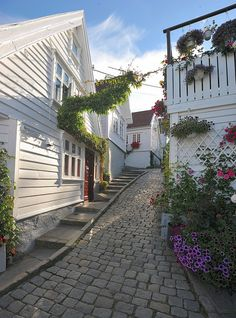 On the streets of Stavanger, Norway (by jack metthey).