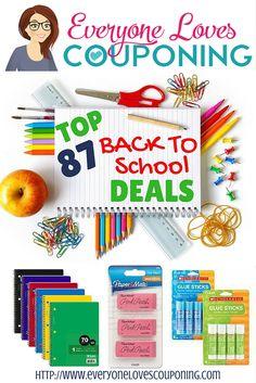 Hottest Back to School Deals Pinterest