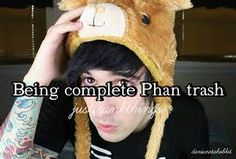 Idk if Frank's phan trash, but he's def a Dangirl...😂😂😂😂😂