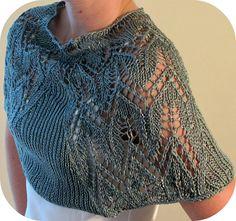 Free knitting pattern for Yana's Lace Shawl pattern by Yana Hripalov Langer