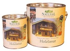 Természetes alapanyagokból álló Natural Fa-lazúrfesték 20 féle színben, 0,75 literes, 2,5 literes kiszerelésben Candle Jars, Candles, Natural, Candle Mason Jars, Nature, Candle, Lights, Au Natural