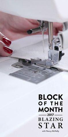 2017 Blazing Star Block of the Month : free online quilt designer - Adamdwight.com