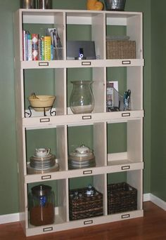 General Store Cubbies.  Directions for DIY here: http://ana-white.com/2011/01/general-store-cubbies