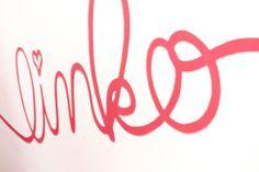 Linko's logo painted on entrance