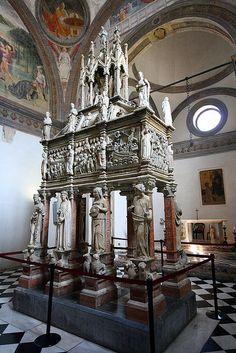 Arca di San Pietro Martire - Cappella Portinari, Basilica di Sant'Eustorgio, Milan
