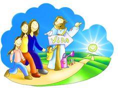 Descarga a Jesús en dibujo Oracion A San Antonio, Jesus Cartoon, Romans 5 8, Bible Stories, Religious Art, Bible Scriptures, Family Guy, Faith, Fictional Characters