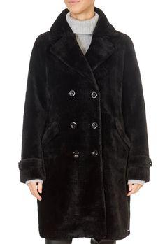 'Gala' Black Faux Fur Coat | Jessimara Black Faux Fur Coat, Sheepskin Slippers, Black Fabric, Clothing, Jackets, How To Wear, Outfits, Shopping, Fashion