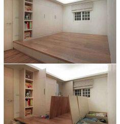 Hidden space. Add this under the dance floor?