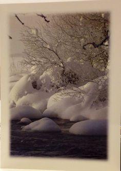 Joulu tunnelma talven posti korrti