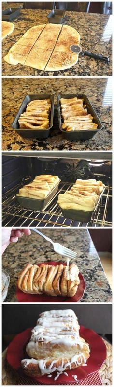 Cinnamon Pulled Apart Bread