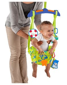 New Baby Einstein Sea & Discover Door Jumper, Fun Jump Activity Toy, Infant Toys Babies R Us, Baby Kids, Baby Swing For Outside, Baby Swing Walmart, Einstein, Baby Swings And Bouncers, Baby Table, Baby Jumper, Baby Bouncer