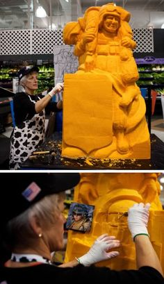 Professional Cheese Sculptor
