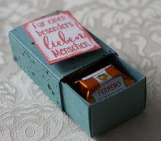 2er-Ferrero-Küsschen-Verpackung - Vorlage