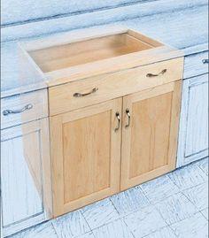 Base cabinet kitchen project