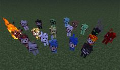 Wolves Plus Mod para Minecraft Minecraft Wolf, Lobo Minecraft, Minecraft Comics, Minecraft Pictures, How To Play Minecraft, Minecraft Skins, Minecraft Stuff, Minecraft Projects, Minecraft Crafts