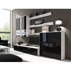 Mobila Living 042 Living, Bookcase, Shelves, Bedroom, Modern, Furniture, Design, Home Decor, Living Room