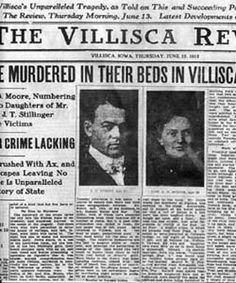 Villisca Ax Murder House in Iowa is haunted by evil and may be an authentic haunted houses. Gruesome Ax Murders took place years ago and is a mystery. Famous Haunted Houses, Most Haunted, Haunted Places, Scary Places, Creepy Things, Scary Stories, Ghost Stories, True Stories, Paranormal Stories