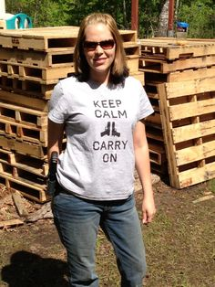 Glad you like your shirt Michelle, thanks for posting!