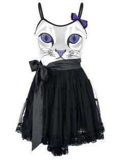 Vestido Gato / Cat - Feline Dress por Cupcake Cult $49.99 (euros)  en EMP... Europe´s Rock Mailorder No.1 : La más grande venta por correo de Merchandising Oficial Musica Metal / Hard rock / Heavy / Ropa Gótica / Militar/ Lolita / Punk Style .. y mucho más