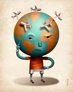 RUNNER'S WORLD FEATURE by Jon Reinfurt, via Behance