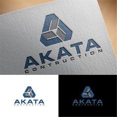 Design #142 by WEHANESIA | Akata Contruction company needs a logo - minority/women owner business