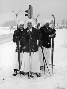 They're just like us! - 15 Vintage Photos of Nuns Doing Normal Things | Mental Floss