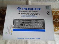 Eladó egy Pioneer KEH-3500SDK 12V-os kazettás autórádió. DC 12V Max. power 25Wx2/15Wx4 Load imp. 4-8 Ω Frekvencia: LW: 153-281kHz MW: 531-1,602kHz FM: 87,5-108MHz A készülék személyesen átvehető Rákoskerten, a 17. kerületben. Érd: 1-258-5880