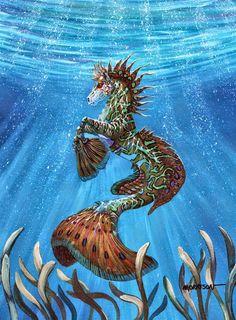 DragonsFaeriesElves&theUnseen : Hippocampus