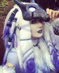 Kindred (League of Legends) Cosplay By: Jessica Nigri #Cosplay