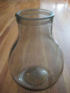 Glass Demi John for Making Vinegar -  #FCThankful