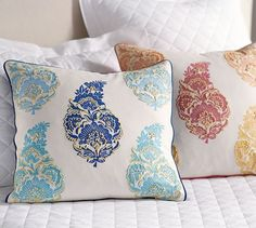 Mimi Paisley Pillow Cover | Pottery Barn