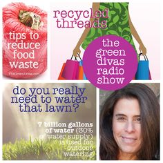 Green Divas Radio Show: Climate Mama, Recycled Threads +