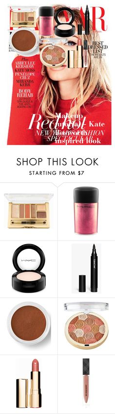 """Makeup tutorial - Kate Bosworth inspired look"" by oroartye-1 on Polyvore featuring beauty, Milani, MAC Cosmetics, Monki, Bare Escentuals, Clarins and Burberry"