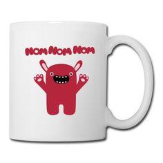 Tasse Om nom nom nom - Drôle & Cute Monster #cloth #cute #kids# #funny #hipster #nerd #geek #awesome #gift #shop Thanks.