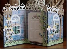 Hobby Barn: east west, home is best . Screen Cards, Window Cards, 3d Cards, Pop Up Cards, Fancy Fold Cards, Folded Cards, Tarjetas Pop Up, New Home Cards, Step Cards