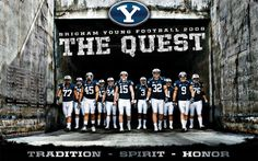 byu football | 2008 OFFICIAL BYU FOOTBAL WALLPAPER » 1280×800