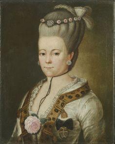 Portrait of  Joanna Sapieha  née Sułkowska | Joanna z Sułkowskich Sapieżyna (1736-1800)