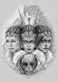 Hellblade: Senua's Sacrifice concept art