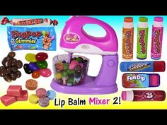 Lip Balm Bonanza 9! Makeup Cell Popsicle Balm Chocolate Candy Lip Gloss MLP Baby LIPS! SHOPKINS - YouTube