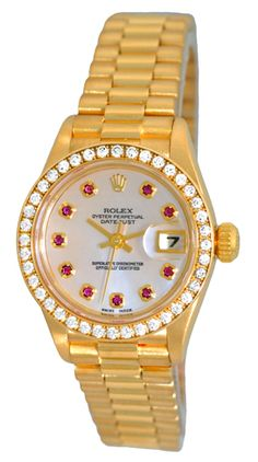 Women's President Yellow Gold You looking at the ladies designer watch, or Exclusive womens watch, such as Omega - Click visit link above to see more - exclusive watches for women Rolex Air King, Rolex Women, Rolex Submariner, Luxury Watches For Men, Rolex Watches, Men's Rolex, Rolex Logo, Cartier, Fine Jewelry