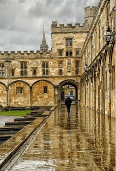 Oxford, England it looks fabulous doesn't it?