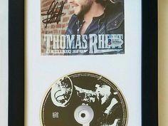 THOMAS RHETT autographed cd display BECKETT BAS CERTIFIED - OLA.com