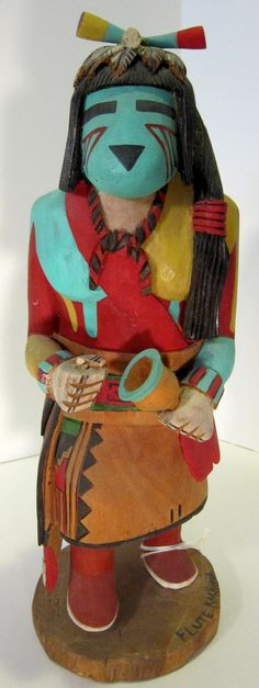 AUTHENTIC Native American Hopi Kachina by by FromAtoZbyDesign, $675.00